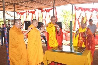 Lễ Động Thổ Đặt Đá Trùng Tu Chùa Pháp Bảo –Thị trấn Quảng Phú, huyện Cư Mgar