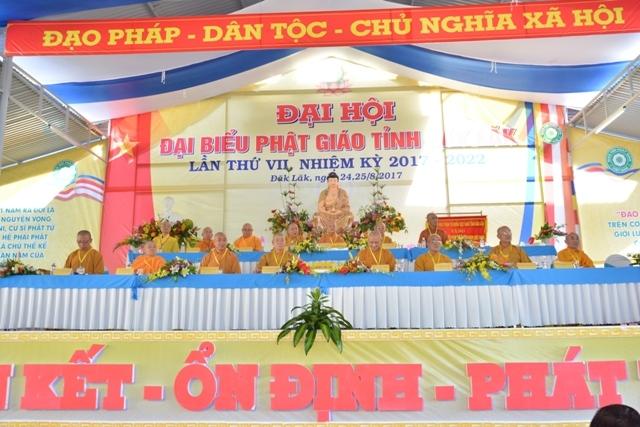 Đại Hội Đại Biểu Phật Giáo tỉnh Đăk Lăk lần thứ VII nhiệm kỳ (2017 - 2022)