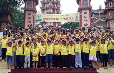 Tịnh xá Ngọc Thành tổ chức khóa tu mùa hè 2018