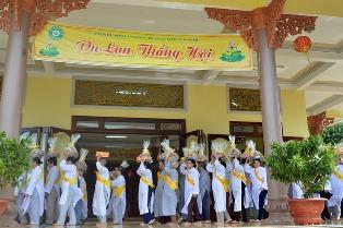 Tịnh xá Ngọc Hương -TP. Buôn Ma Thuột tổ chức Vu Lan Báo Hiếu