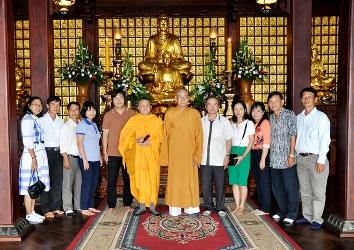 Trường nghiệp vụ Tôn giáo – Ban Tôn giáo Chính phủ  Đến thăm Ban Trị sự Giáo hội Phật giáo Việt Nam tỉnh Đak Lak