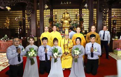 Lễ Hằng Thuận chùa Sắc Tứ Khải Đoan