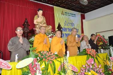 Lễ kỷ niệm 5 năm thành lập Đoàn TNPT Thiện Sinh Chùa Khải Đoan