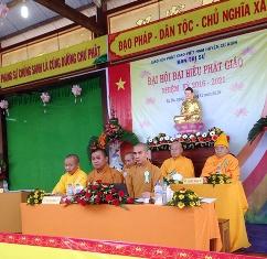 Đại hội Đại biểu Phật giáo huyện Cư Kuin lần thứ II (nhiệm kỳ 2016 – 2021).