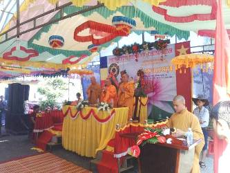 Lễ An Vị Tôn Tượng Bổn Sư Thích Ca Mâu Ni Phật