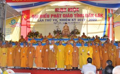Thành phần nhân sự Ban Trị Sự GHPGVN tỉnh Đăk Lăk Nhiệm kỳ VII (2017 - 2022)