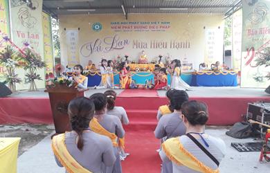 Lễ Vu Lan tại chùa Diệu Pháp huyện Ea Sup
