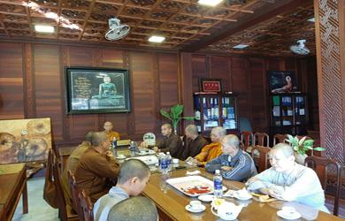 Phiên họp nhân sự thành lập Ban Trị sự Phật giáo huyện Buôn Đôn – Ea Sup