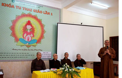 Khoá tu Thai giáo lần I tại Chùa Sắc Tứ Khải Đoan