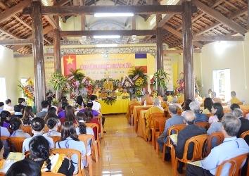 Huyện Krông Pắc Long Trọng Tổ Chức Đại Hội Đại Biểu Phật Giáo Lần Thứ V Nhiệm Kỳ 2016 – 2021