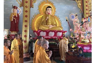 Lễ An Vị Phật Chùa Pháp Bảo