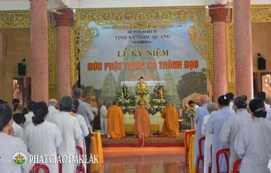 Tịnh Xá Ngọc Quang Kỷ niệm Phật Thành Đạo PL. 2561