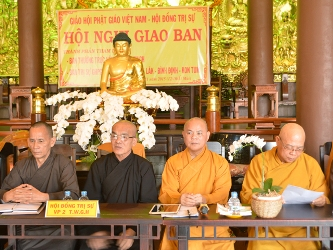 Họp Giao Ban Phật Giáo Các Tỉnh Tây Nguyên