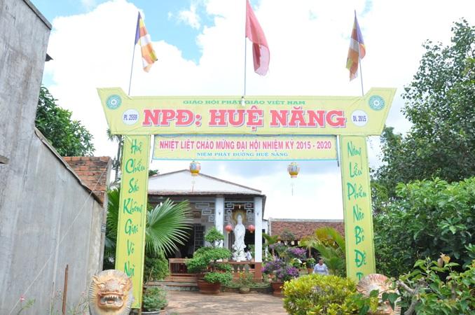 Niệm Phật Đường Huệ Năng thị trấn Krông Năng tổ chức hội nghị tổng kết Phật sự & bầu Ban đại diện nhiệm kỳ 2016 – 2021