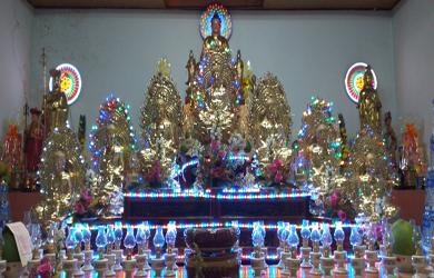 Lễ Cầu An đầu năm NPĐ Liên Trì huyện Ea Hleo
