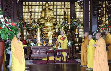Đắk Lắk: Tăng Ni Phật giáo tỉnh Đắk Lắk chính thức mãn hạ
