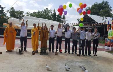 Easup: Phật Giáo Huyện tổ chức Đại Lễ Phật Đản Pl 2563