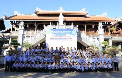 Khóa tu Bát Quan Trai Huynh trưởng GĐPT Đắk Lắk nhân ngày Phật Thành đạo Pl 2562