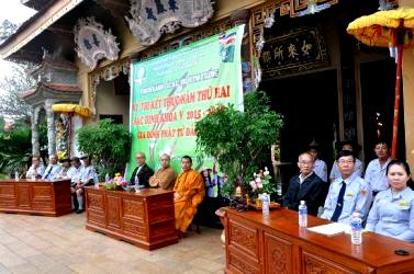 GĐPT tổ chức kỳ Thi kết thúc năm học thứ hai Bậc Định.