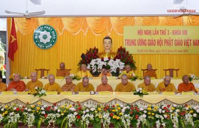 Khai mạc Hội nghị kỳ 3 - Khóa VIII Trung ương GHPGVN