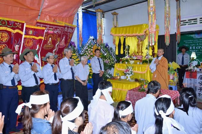 Lễ Truy Niệm Và Truy Thăng Cấp Tập Cho Cố Huynh Trưởng Quảng Đức - Hồ Hữu Phú.