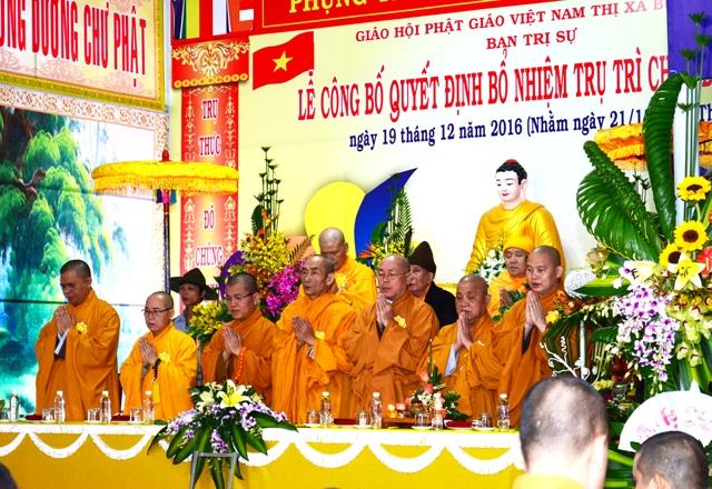 Đăk Lăk: Lễ Bổ Nhiệm Trụ Trì Chùa Đạt Hiếu thị xã Buôn Hồ