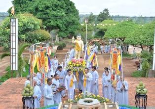 Lễ Tắm Phật Chùa An Hòa - Thị Xã Buôn Hồ