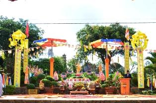 Chùa An Hòa Kính Mừng Phật Đản sanh . PL 2561