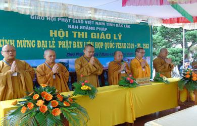 Ban Hoằng pháp tổ chức Hội thi Giáo lý dành cho Phật tử