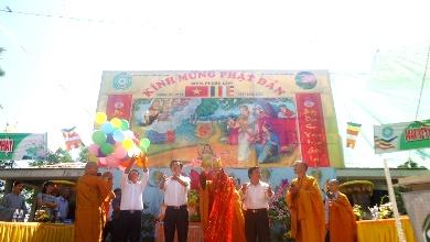Phật Giáo Huyện Krông Bông Trang Nghiêm Tổ Chức Đại Lễ Phật Đản PL 2559