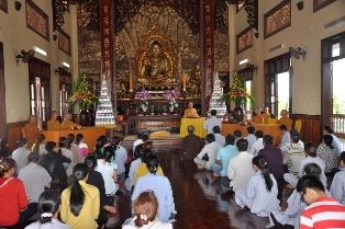 Nghi thức Quy Y Tam Bảo tại Thiền Viện Trúc Lâm Vạn Đức