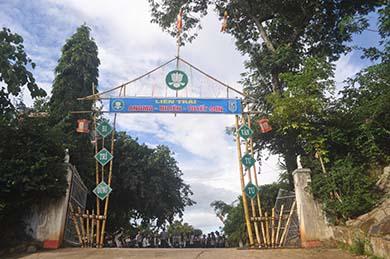 GĐPT Huyện Krông Bông  Tổ Chức Liên Trại Huấn Luyện Anoma – Ni liên - Tuyết sơn VIII