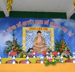 Lễ Bổ Nhiệm Trụ trì Chùa Liên Sơn, TT Liên Sơn, Huyện Lak