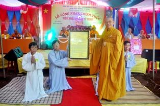 Lễ Công Nhận Chính Thức Niệm Phật Đường Từ Minh Xã EaNing – Huyện CưKuin
