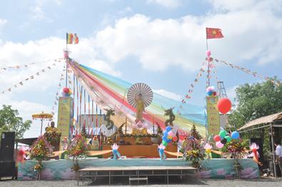 Huyện CưKuin: BTS trang nghiêm tổ chức Đại Lễ Phật Đản PL.2562