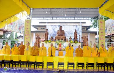 Chùa Kim Quang tổ chức lễ Vu Lan