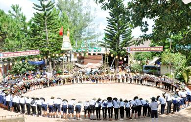 Trại Hương Lam 4 GĐPT Krông Năng