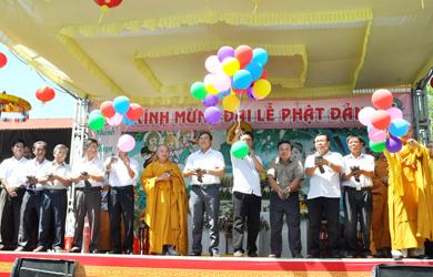 Ban Trị sự Phật giáo  huyện Krông Bông tổ chức Đại Lễ Phật Đản PL 2563 – DL 2019