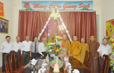 Ban Trị sự Phật giáo Đắk Lắk chúc mừng Giáng Sinh 2019
