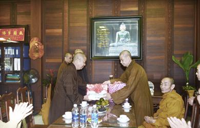 Đắk Lắk: Ban Văn hóa TƯ thăm và làm việc Ban Trị sự Phật giáo tỉnh