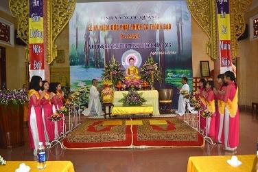 Lễ Kỷ Niệm Phật Thích Ca Thành Đạo PL 2559  và Tổng kết Tu học năm 2015 của Tịnh xá Ngọc Quang