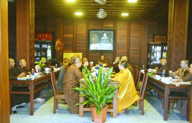 Đắk Lắk: Họp Ban Thường trực Ban Trị sự Phật giáo tỉnh