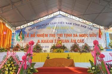 Lễ Bổ Nhiệm Trụ trì Tịnh Xá Ngọc Bửu, TT EaKar, Huyện Ea Kar