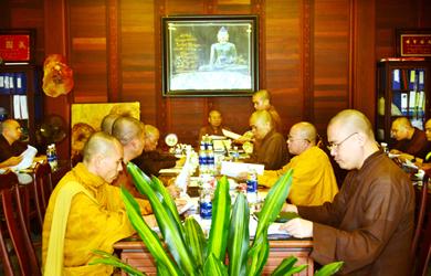 Đắk Lắk: Thường trực Ban Trị sự GHPGVN tỉnh họp định kỳ tháng 11/2019
