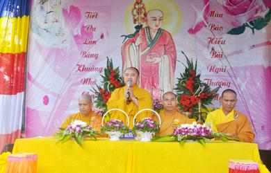Krông Bông: Niệm Phật Đường Phước Bảo, Xã YangReh tổ chức lễ Vu Lan Báo Hiếu PL 2563