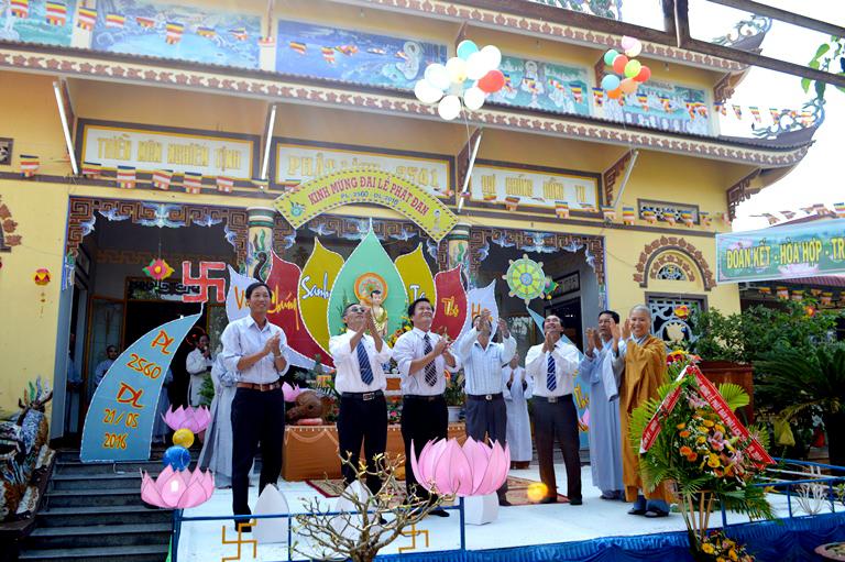 Đại Lễ Phật Đản tại Chùa Thuần Hiếu – Xã Hòa Tiến Huyện Krông Pắc – Tỉnh ĐakLak
