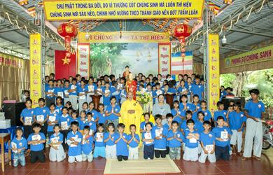 Lắk: Khóa tu trẻ lần thứ 20 chùa Quảng trạch