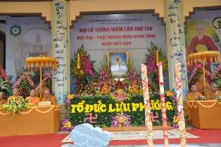 Lễ Tưởng Niệm 708 Năm Ngày Phật Hoàng Trần Nhân Tông Nhập Niết Bàn.