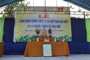 Lễ Ra Mắt Niệm Phật Đường Phước Thiện Thôn Quảng Đông - xã Hòa Sơn – Huyện Krông Bông