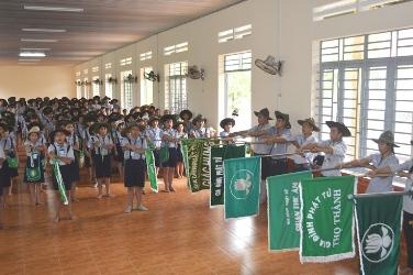 Ban Điều Hành Gia Đình Phật Tử TP Buôn Ma Thuột Tổ Chức Huấn Luyện Đàn, Đội, Chúng Trưởng Khóa VIII năm 2016